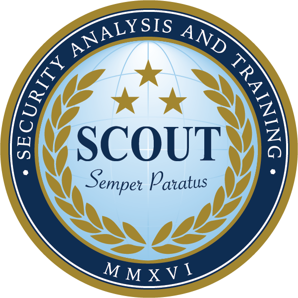 Scout SAT – Security Analysis and Training Logo